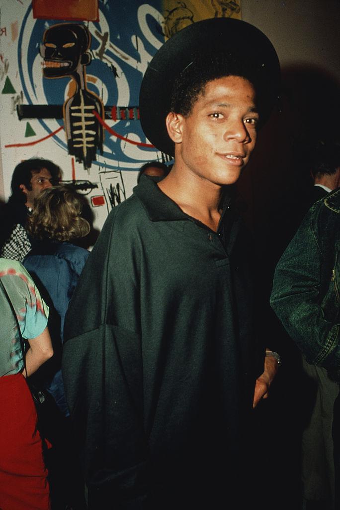 American artist Jean-Michel Basquiat (1960 - 1988)