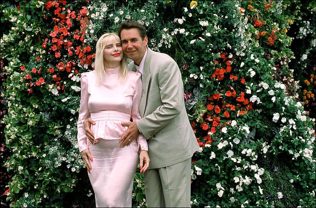 Jeff Koons with Ilona Staller
