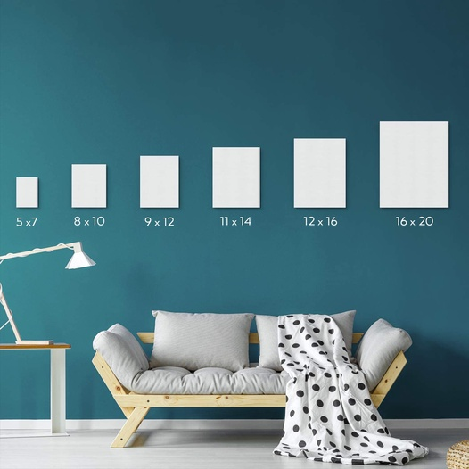 Canvas Panels 11 X 14 In Pack Of 14 Arteza