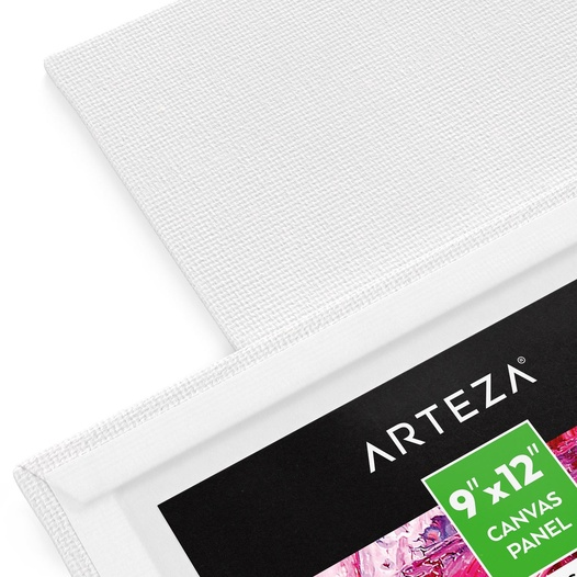 x 4 in Professional Artist Cotton Canvas Panel Board 4 in 96-Pack